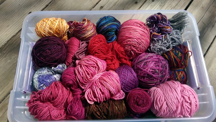 box-of-yarn-scraps